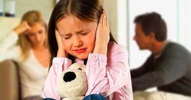Сварки між батьками при дітях