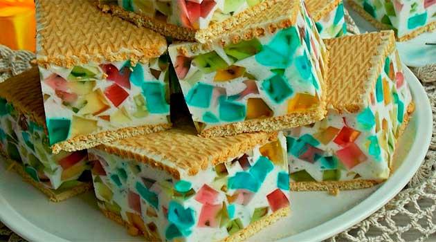 Торт «Бите скло»