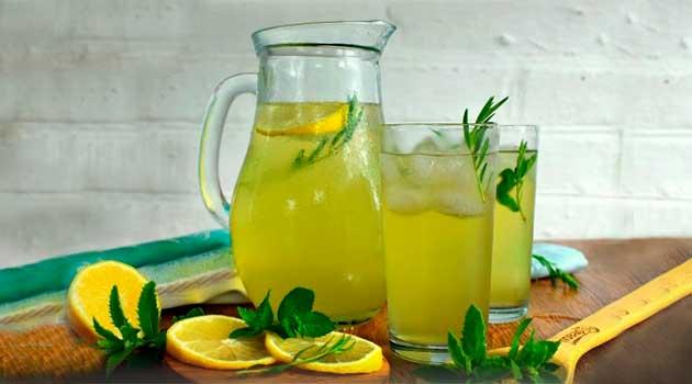 Домашній лимонад із тархуном