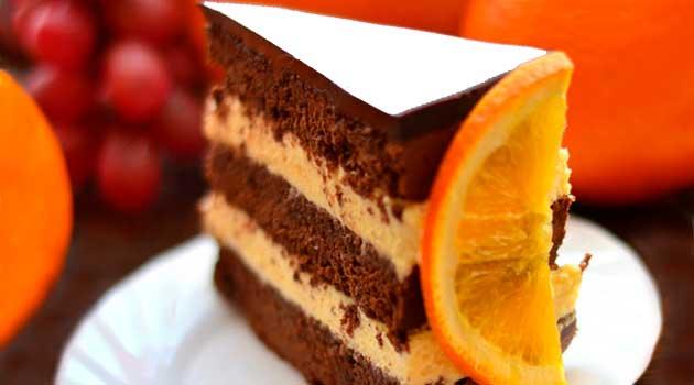 Кавово-апельсиновий кекс