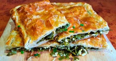 Пиріг із зеленою цибулею