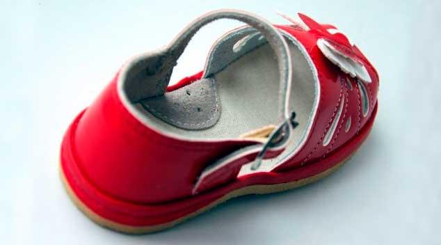 супінатор у дитячому взутті