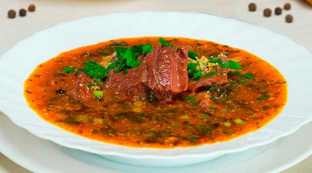 Грузинський суп харчо