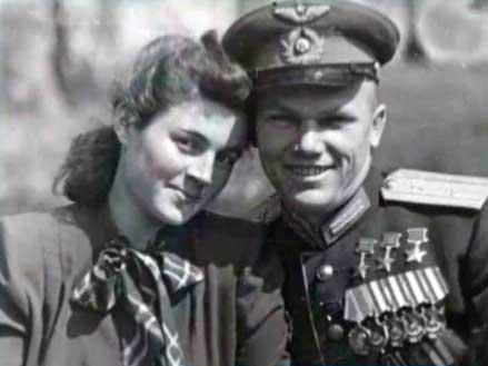 Іван Кожедуб з дружиною Веронікою