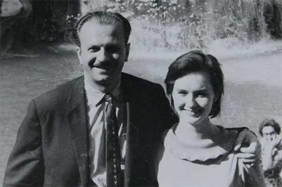 Юрій Тимошенко з дружиною Юлією Пашковською