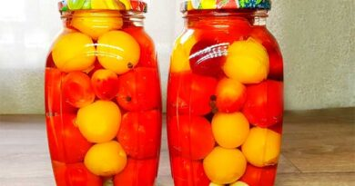 рецепти консервації помідорів з аличею