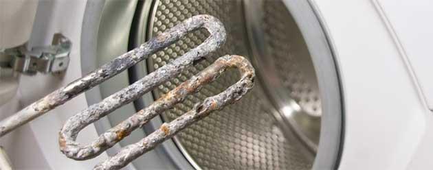 Накип на тені пральної машини