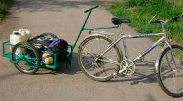 Причіп до велосипеда