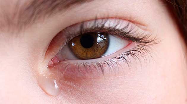 Щоб очі не сльозилися