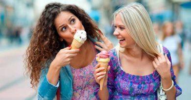 Як ви їсте морозиво