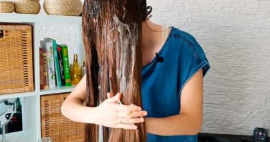 Маска з насіння льону для волосся