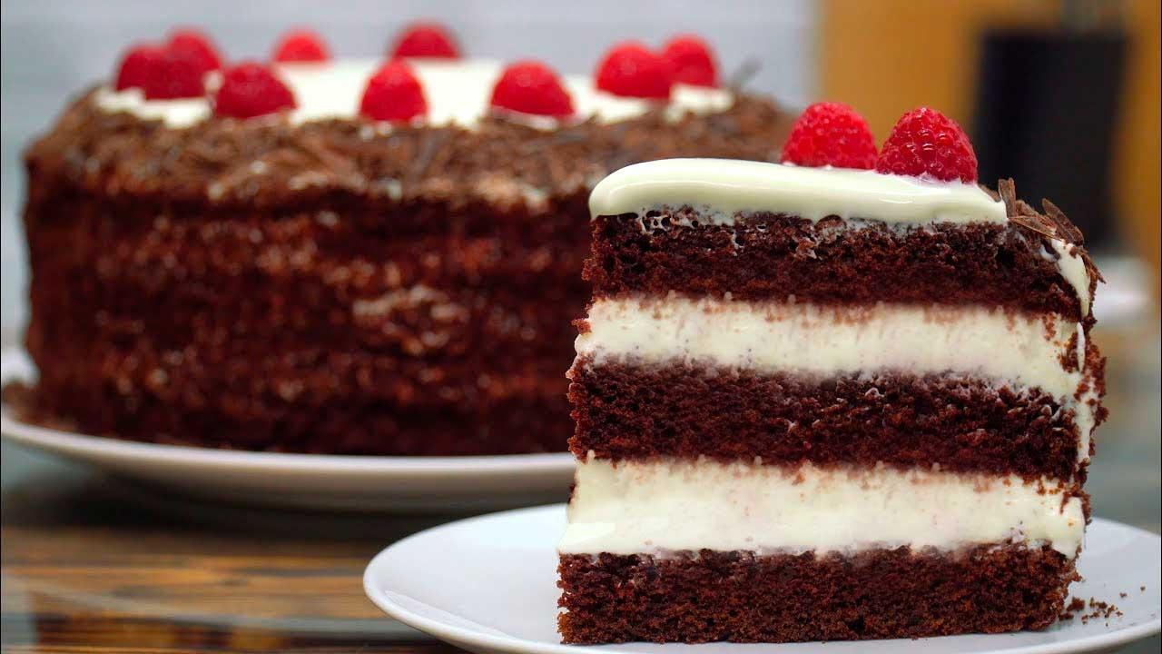 Торт із заварним кремом