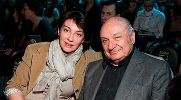 Михайло Жванецький з дружиною Наталею