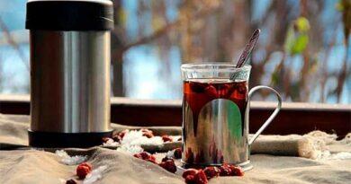Чай із глоду і м'яти