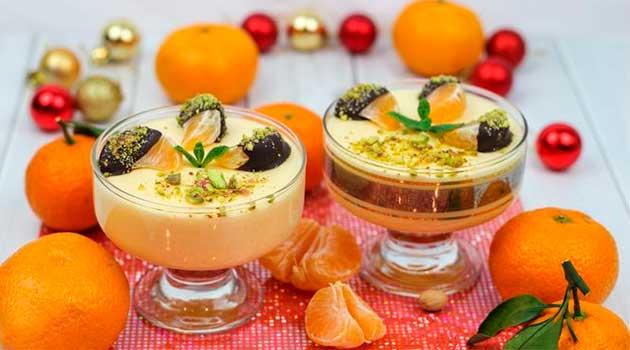 Мандариново-вершковий десерт