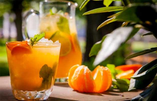 Мандариновий лимонад з імбиром