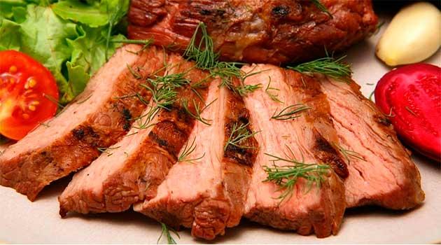 Соковите м'ясо «Княже»