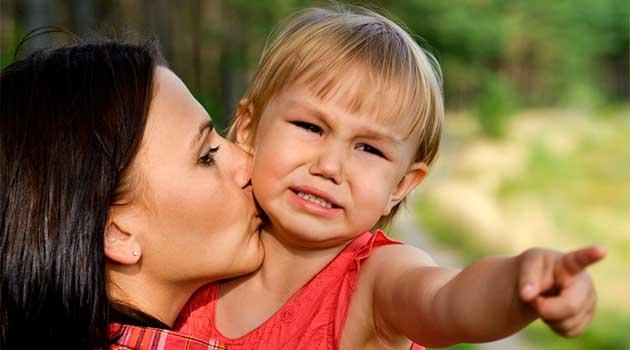 Як впоратися з дитячою істерикою