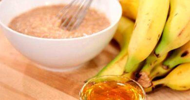 Банани з медом від кашлю