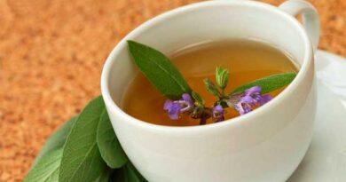 Чай на основі шавлії і буролистка