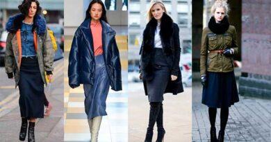 Як підібрати спідницю під зимовий одяг