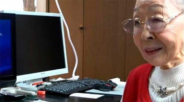 90-річна геймерка - японка Хамако Морі