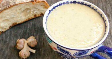 Часниковий суп від застуди