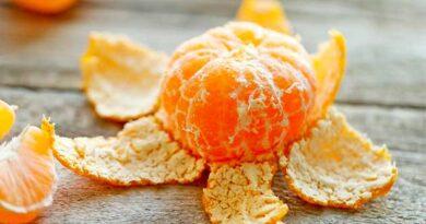 Шкірки від мандаринів