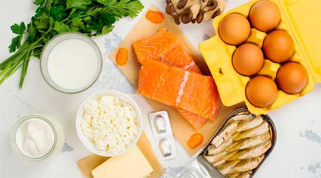 Вітамін D в продуктах