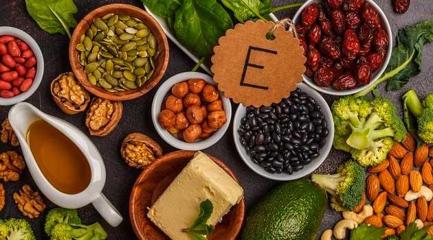 Вітамін Е в продуктах