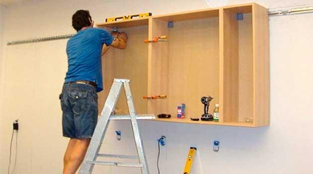 Як повішати меблі на стіну з гіпсокартону