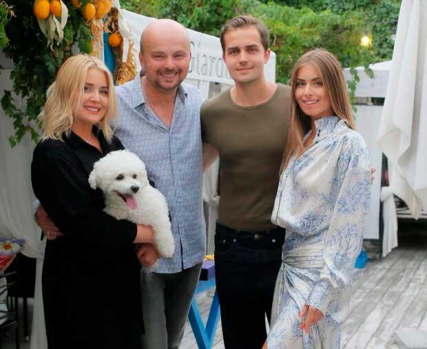 Син Софіїї Михайлівни з дружиною і дітьми