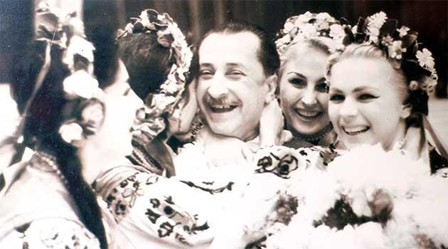 День народження балетмейстера Павла Вірського