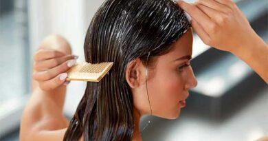 Використання великої кількості бальзаму для волосся