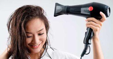 Як правильно сушити волосся феном