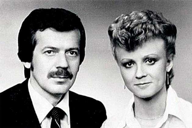 Анне Вєскі з чоловіком
