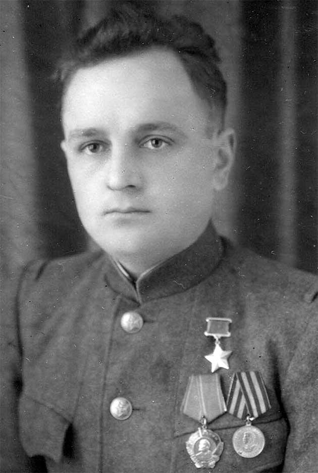 Герой Радянського Союзу Лютий Григорій Михайлович