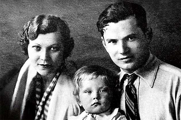 Клавдія Шульженко з чоловіком Володимиром Кораллі