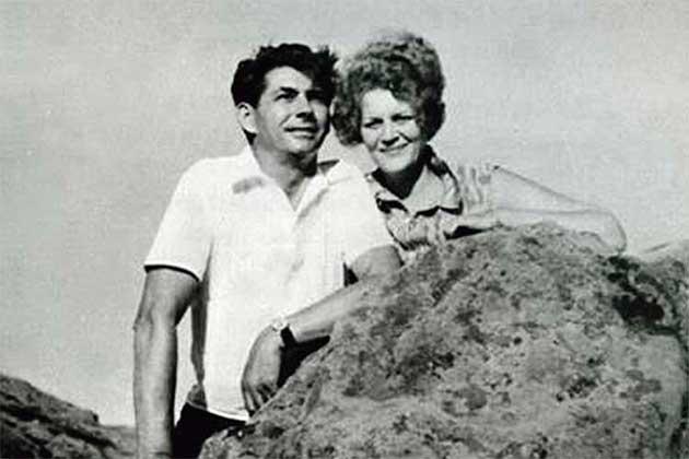 Ліна Костенко з чоловіком Василем Цвіркуновим