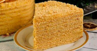 Торт з апельсиновим кремом