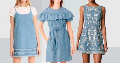 Джинсові сукні знову в моді