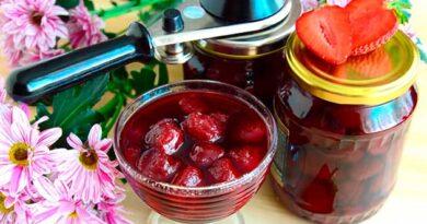 Варення з полуниці за 5 хвилин