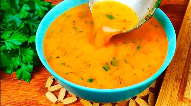 Як приготувати шовковий суп