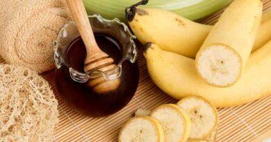Маски для шкіри з банану і меду