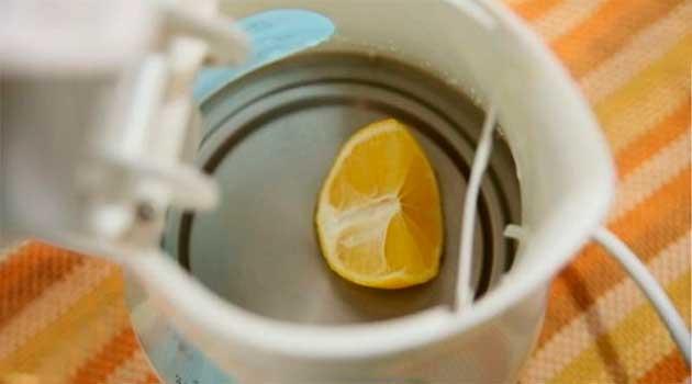 Чим очистити чайник від накипу без хімії